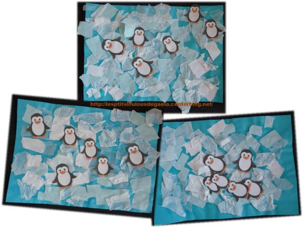 pingouin papier mache