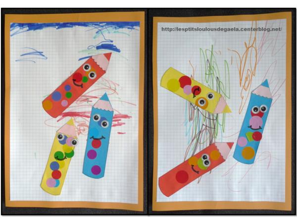 Bricolage rentr e scolaire maternelle my blog - Decoration des classes pour la rentree scolaire ...